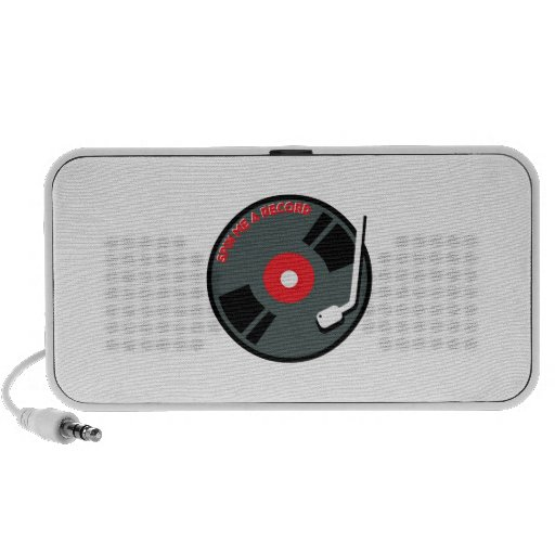 Spin Me A Record iPod Speaker