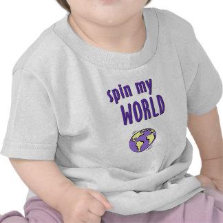 Spin My World Shirts