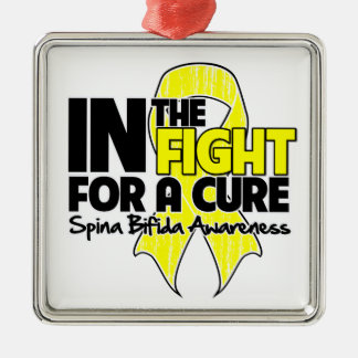 Spina Bifida In The Fight For a Cure Christmas Tree Ornament