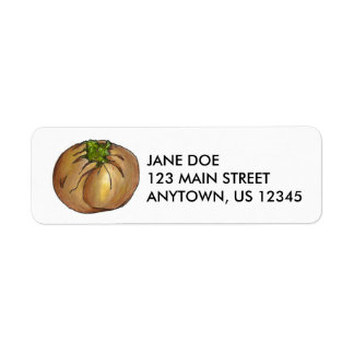 Spinach Knish Food Foodie Return Address Labels