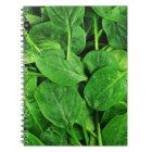 Spinach Notebook