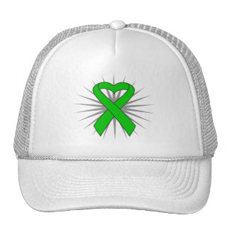 Spinal Cord Injury Awareness Heart Ribbon Hat