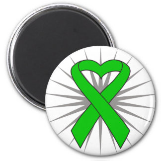 Spinal Cord Injury Awareness Heart Ribbon Fridge Magnet