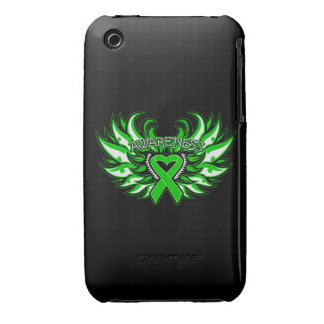 Spinal Cord Injury Awareness Heart Wings iPhone 3 Covers