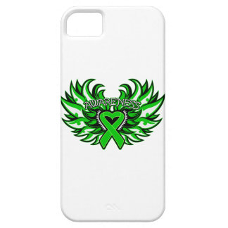Spinal Cord Injury Awareness Heart Wings iPhone 5 Case