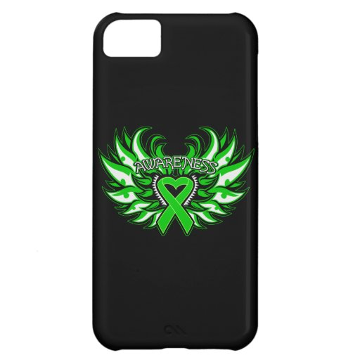 Spinal Cord Injury Awareness Heart Wings Cover For iPhone 5C