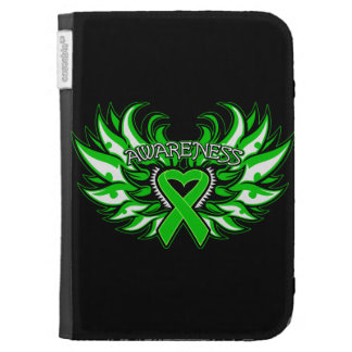 Spinal Cord Injury Awareness Heart Wings Cases For The Kindle