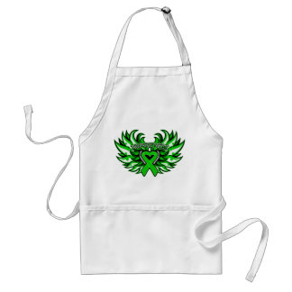 Spinal Cord Injury Awareness Heart Wings.png Adult Apron