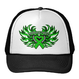 Spinal Cord Injury Awareness Heart Wings.png Trucker Hat