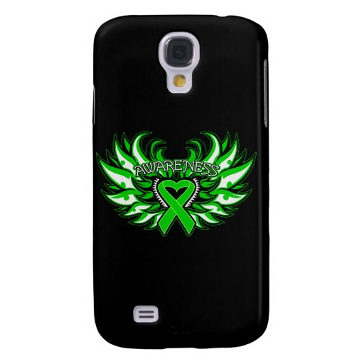 Spinal Cord Injury Awareness Heart Wings.png Galaxy S4 Covers