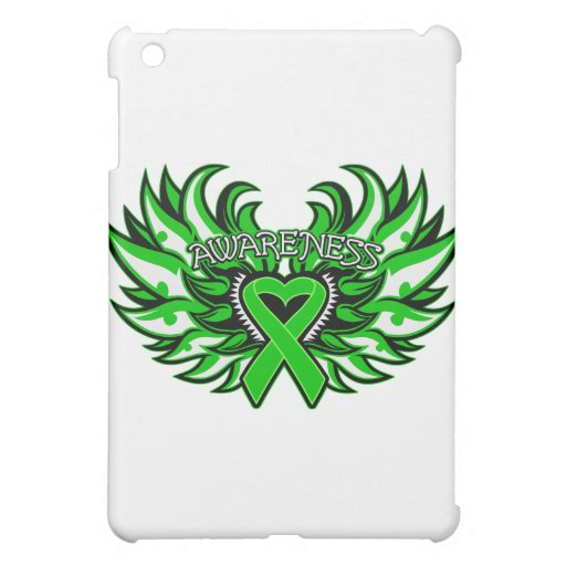 Spinal Cord Injury Awareness Heart Wings.png Cover For The iPad Mini