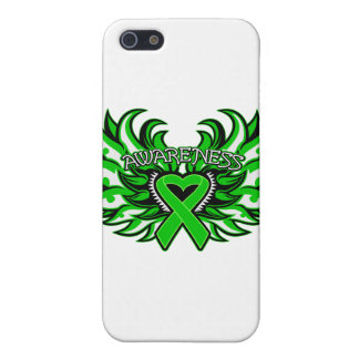 Spinal Cord Injury Awareness Heart Wings.png iPhone 5 Cases