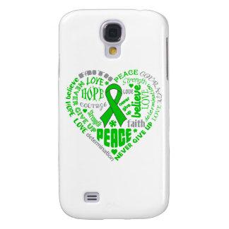 Spinal Cord Injury Awareness Heart Words HTC Vivid / Raider 4G Case