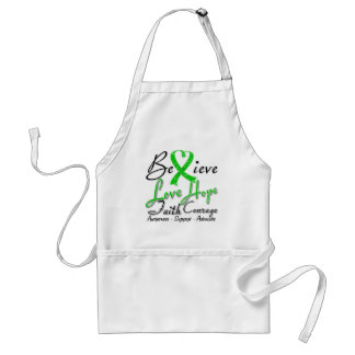 Spinal Cord Injury Believe Heart Collage Aprons
