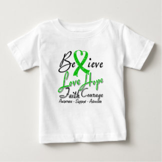 Spinal Cord Injury Believe Heart Collage Tshirts