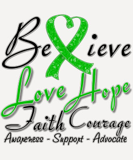 Spinal Cord Injury Believe Heart Collage T-shirt