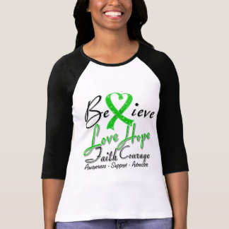 Spinal Cord Injury Believe Heart Collage Tshirt