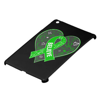 Spinal Cord Injury Believe Ribbon Heart Case For The iPad Mini