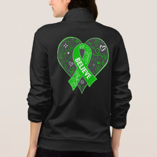 Spinal Cord Injury Believe Ribbon Heart Jackets
