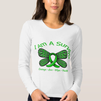 Spinal Cord Injury Butterfly I Am A Survivor Tees
