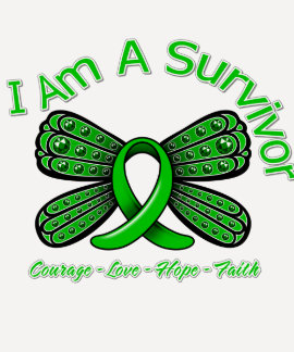 Spinal Cord Injury Butterfly I Am A Survivor Shirt