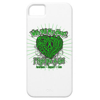 Spinal Cord Injury Heart I Fight Like A Girl iPhone 5 Covers