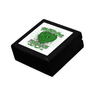 Spinal Cord Injury Heart I Fight Like A Girl Jewelry Box