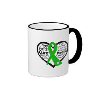 Spinal Cord Injury Heart Ribbon Collage Coffee Mug