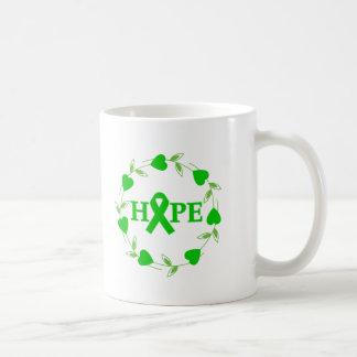 Spinal Cord Injury Hearts of Hope Basic White Mug