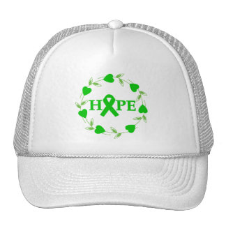 Spinal Cord Injury Hearts of Hope Trucker Hats