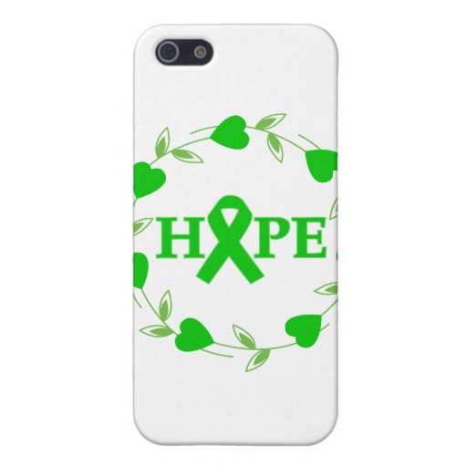 Spinal Cord Injury Hearts of Hope iPhone 5 Covers