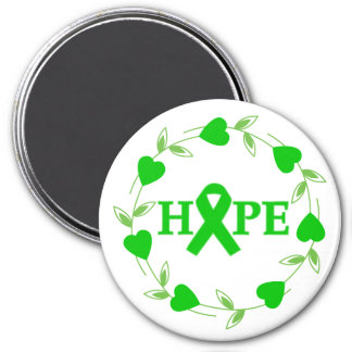 Spinal Cord Injury Hearts of Hope Fridge Magnet