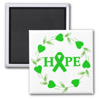 Spinal Cord Injury Hearts of Hope Refrigerator Magnet