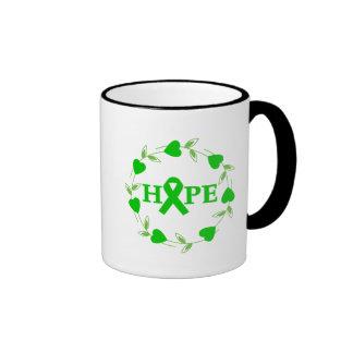 Spinal Cord Injury Hearts of Hope Coffee Mug