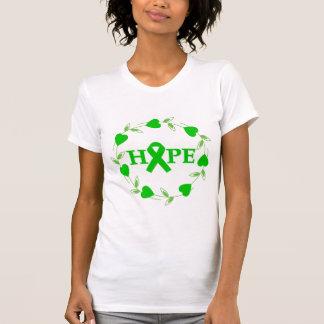 Spinal Cord Injury Hearts of Hope Tee Shirt