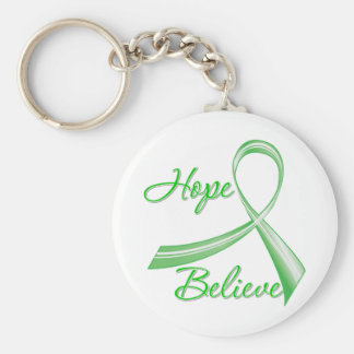 Spinal Cord Injury - Hope Believe Key Chains