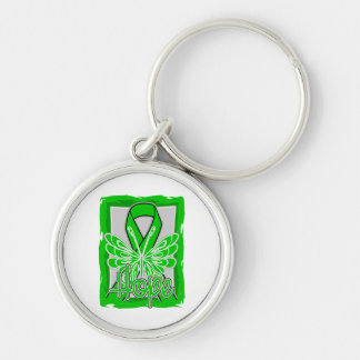 Spinal Cord Injury Hope Butterfly Key Chains