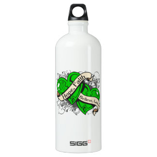 Spinal Cord Injury Hope Faith Dual Hearts SIGG Traveller 1.0L Water Bottle