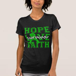 Spinal Cord Injury Hope Love Faith Survivor Shirts