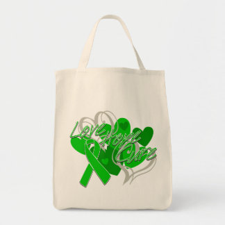 Spinal Cord Injury Love Hope Cure Tote Bag