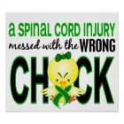 Spinal Cord Injury Messed With Wrong Chick Poster