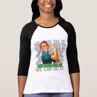 Spinal Cord Injury Rosie WE CAN DO IT T Shirt