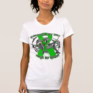 Spinal Cord Injury Survivor By Day Ninja By Night T Shirt