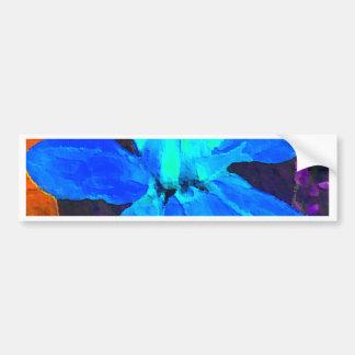 Spinderok - Blue Dahlia Bumper Sticker