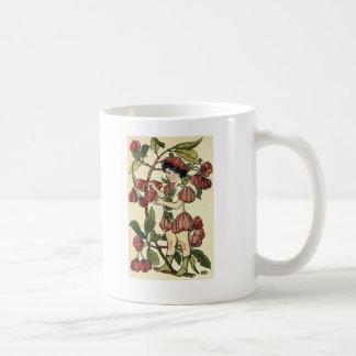 spindle-berry basic white mug
