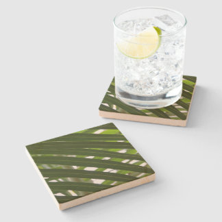 Spindle Palm Stone Coaster