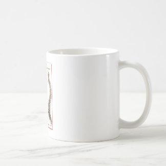 Spine Details Sepia2 Basic White Mug
