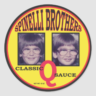 SpinelliBrothers Classic Q Sauce Sticker