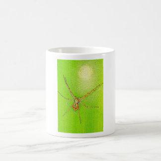 Spinne auf Blatt Coffee Mug