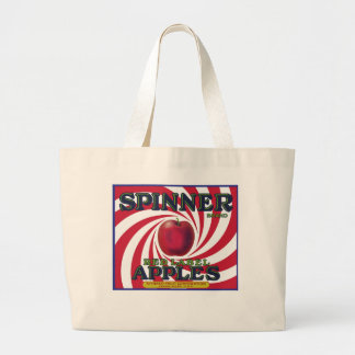 SPINNER BRAND APPLES CANVAS BAGS